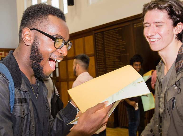 """Stellar"" performance: QE boys produce top results amid major changes to A-levels nationally"