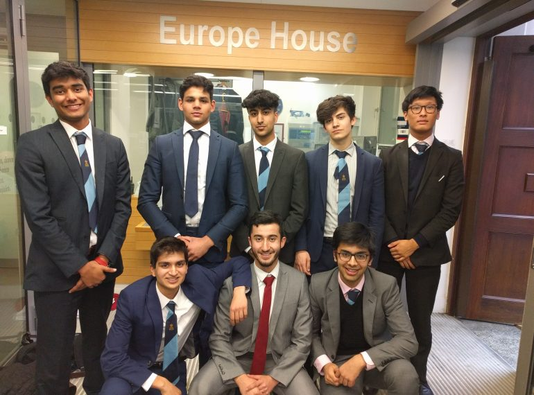 National finalists in European debating competition
