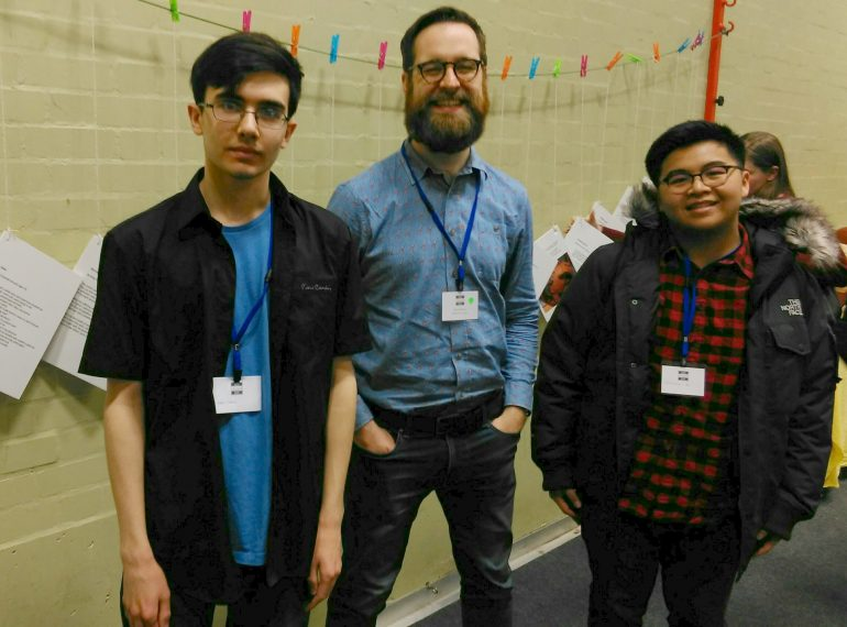 Published poets: QE boys victorious in their battle