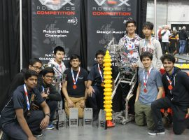 Kentucky triumph! QE's senior teams' memorable experiences at world robotics finals