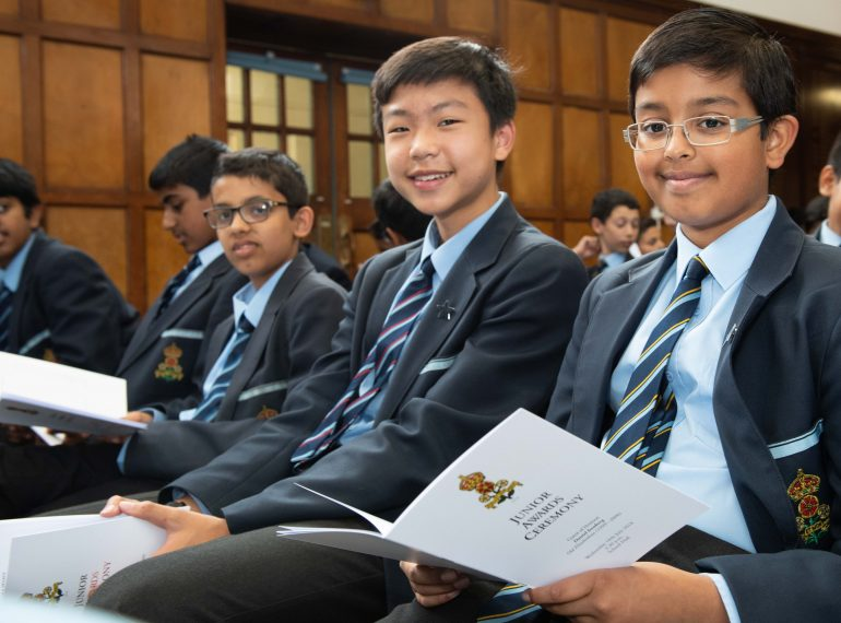 """The best of the best"": Headmaster salutes Queen Elizabeth's School's young award-winners, urging them to keep moving forward"