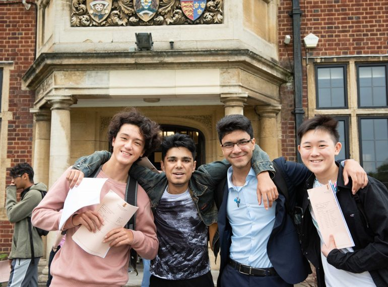 QE shines in national newspaper league tables for both GCSE and A-level results