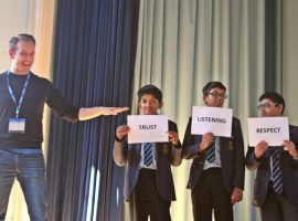 Understanding the big issues: special assembly looks at relationships, 'sexting' and domestic abuse