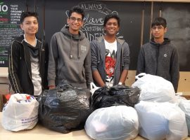 Spirit of service: sixth-formers determined to help the homeless