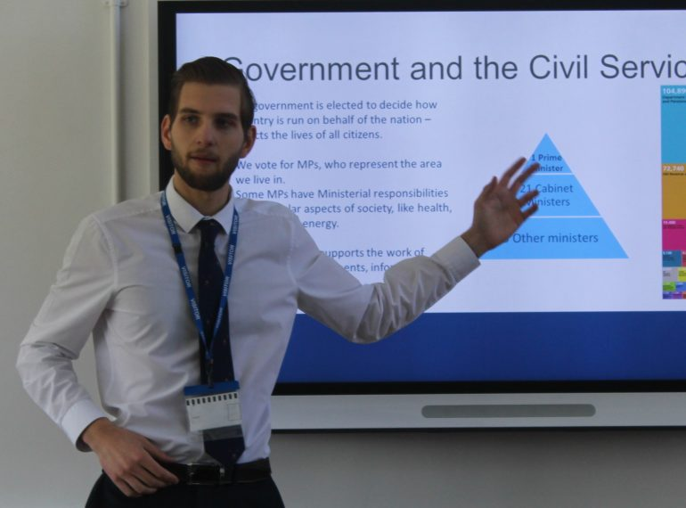 Man of influence – recent graduate's early experience at the cutting edge of politics