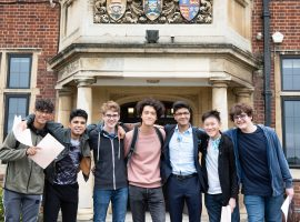 Maximising our boys' potential: QE beats all other selective schools in new league table