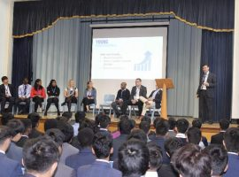 A high degree of sense: graduate apprenticeships a hot topic at careers event