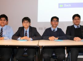 Under pressure, but now they are the champions: Broughton triumphant in quiz competition