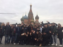 Borscht for the boys: pupils sample Russian culture on trip to Moscow and St Petersburg