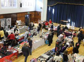 Friends' first Christmas Fayre draws the crowds