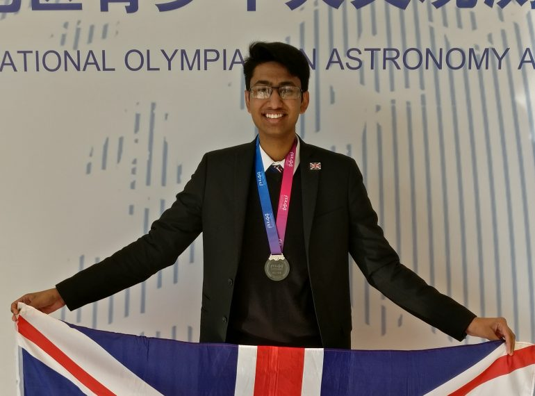 Niam's cosmic adventure: sixth-former's medal-winning performance in China as part of UK team in international Olympiad