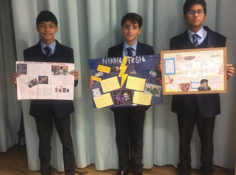 Putting Science in the picture: diverse subjects chosen in poster competition