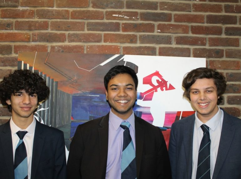 Perfect score: senior mathematicians perform to the highest standard in national competition
