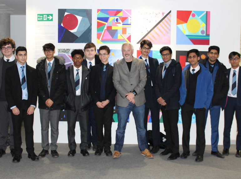 """More than just Trump's wall"" – sixth-formers hear about the growing role of barriers in world politics"