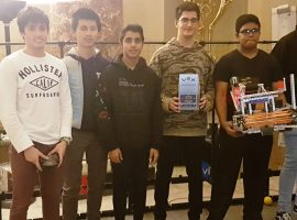 Two through! QE teams qualify for national robotics final