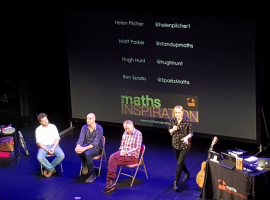 Alphabetti Spaghetti and Humble Pi: talks serve up inspiration for QE's mathematicians