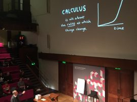 The correct answer? The one you least expect! Extra-curricular surprises at the Maths Fest
