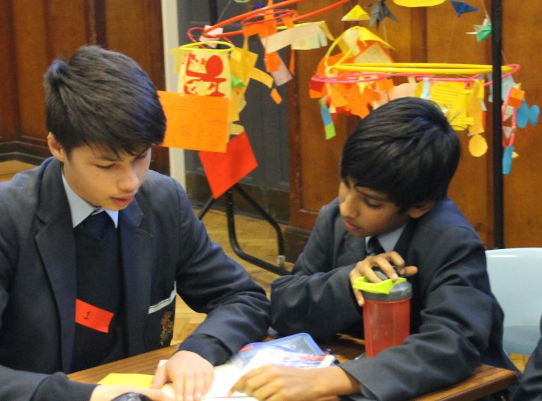 """""""It was the best!"""": Year 8 have fun at Maths Circus, helped out by sixth-formers"""