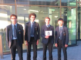 Sweet success: perfect score in Dessert round helps QE team secure top points total in Maths Feast