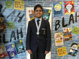 Child Genius Rahul inspires and informs hundreds of primary school children