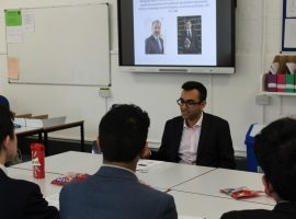 Theory and practice: sixth-formers learn about the real-world importance of Economic Geography