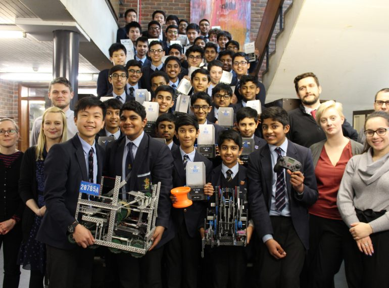 """The best day of my life"": QE at the VEX Robotics national and world finals – full report"