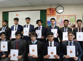 QE's top chemists strike gold and silver in Olympiad