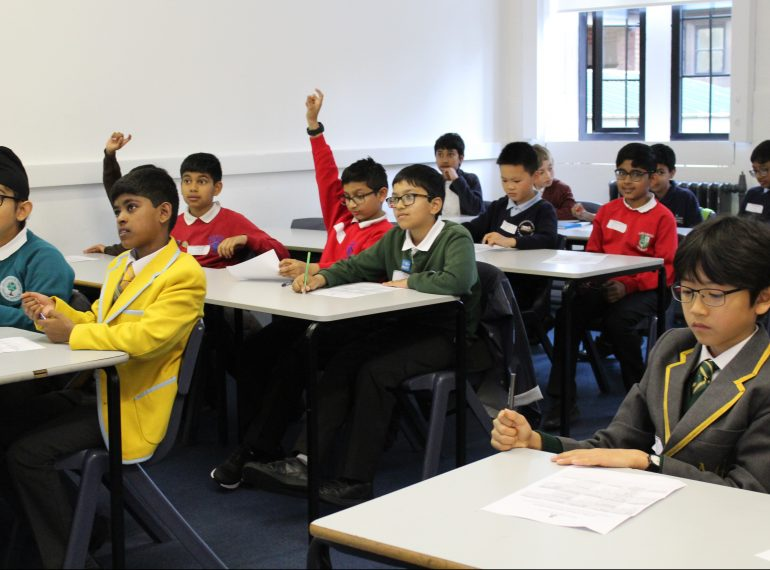 Getting off to the right start: transition days help incoming pupils find their feet