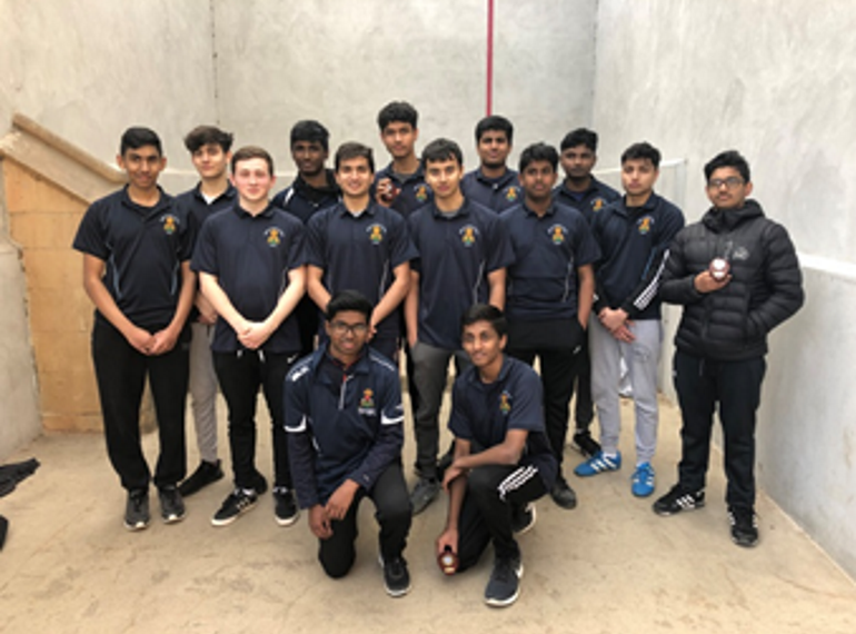 Record participation in Eton Fives brings rewards at national finals