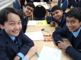 Among the very best: QE mathematicians perform strongly at national final