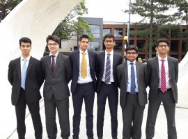 Waxing lyrical: debaters impress at European Youth Parliament national finals