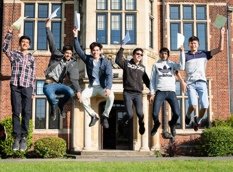 Even better than last year! School record extended as almost four out of every five GCSEs taken at QE are awarded top grade
