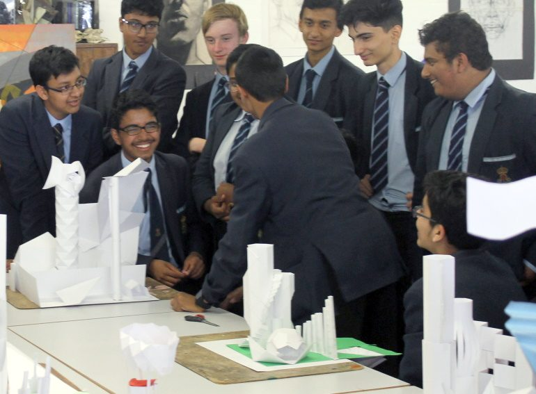 Beach boys win architectural modelling competition