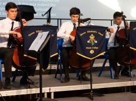 Staff and boys shine in concert – and there's no stopping Cambridge scholar Drew