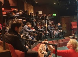 Powerful professional performance helps boys prepare for QE's own production