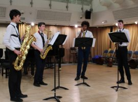 Saxophonists crowned Chamber Champions