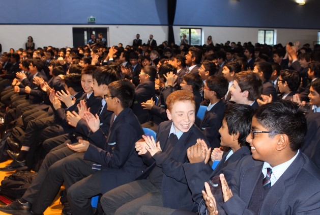 The worst of times for some, but the best of times for QE's young achievers – and so a time to celebrate