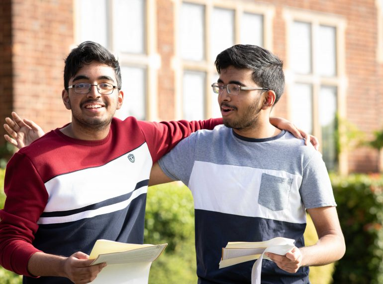Terrific at the top! Highest grades surge as Queen Elizabeth's School records a great GCSE performance