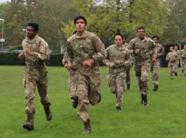 At the double! Covid-safe competitive training returns for cadets