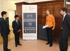 The words I love: pupils discover their teachers' favourite poems