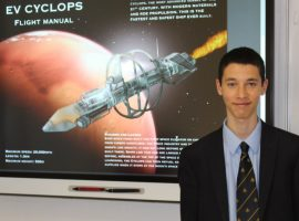 QE boys among top winners in competition to help astronauts survive their 'lockdown' journey to Mars