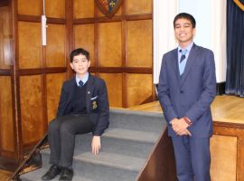 Sounds great! Eeshan and Joel to sing with national choirs following audition success