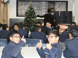 Compliments of the season! Charity, celebration and tradition to the fore in a festive end to the term