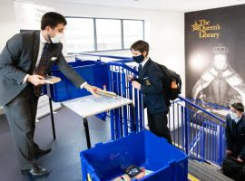 Innovative approach by The Queen's Library helps boys through a difficult chapter