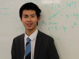 James has perfect formula for success, as sixth-formers shine in Senior Maths Challenge