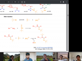 "Success in ""welcome distraction"" of online Cambridge Chemistry Race"