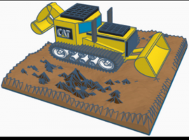 Keon wins international competition with out-of-this-world bulldozer design