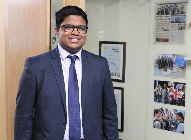 How Deshraam engineered himself a coveted gap-year industrial placement
