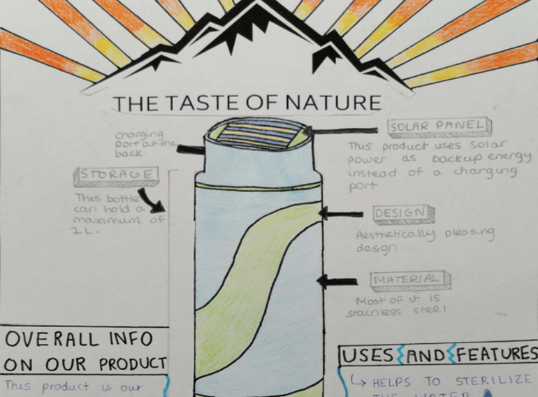 All the right elements: winning team's design uses light to purify water